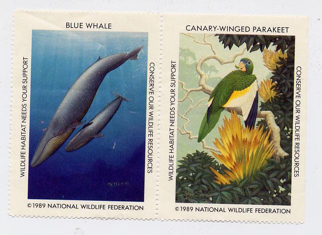 Found Object #7 – Wildlife Stamps