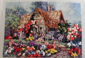 Embroidered Landscape