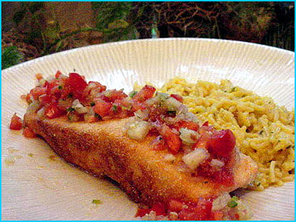 Cornmeal Encrusted Salmon