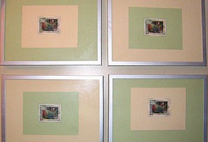 Framed Stamps
