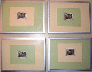 Framed Stamps