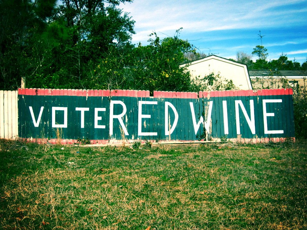 Vote Red Wine