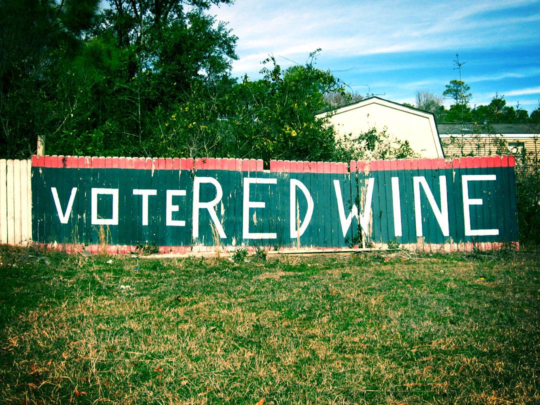 Vote Red Wine