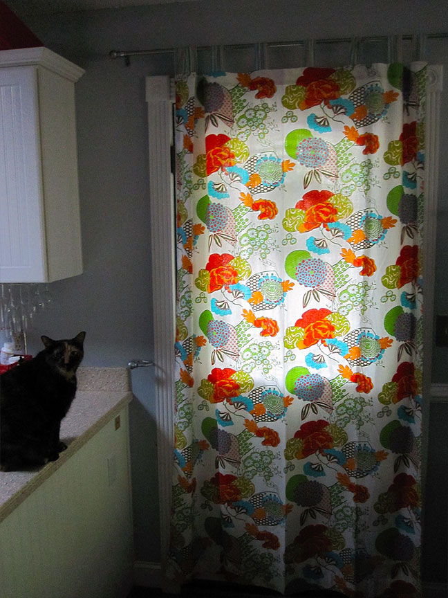 Changing the Curtains for Spring