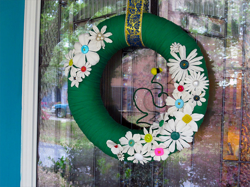 Spring Wreath (plus how-to)