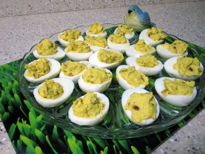 Deviled Eggs - Close-up
