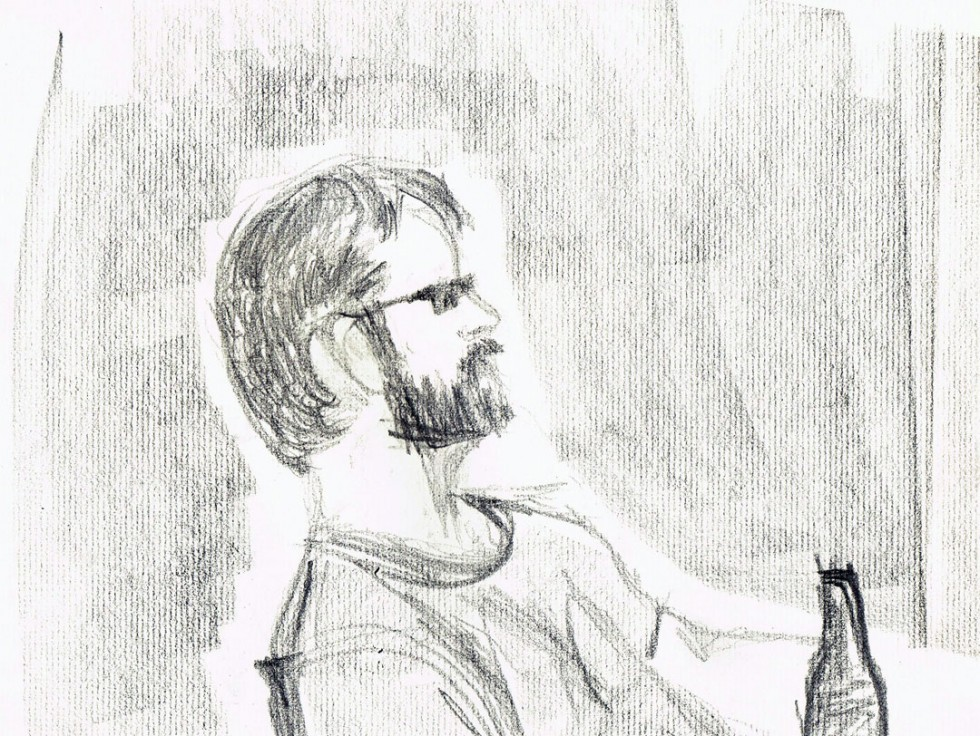 Sketch of Rob Chilling