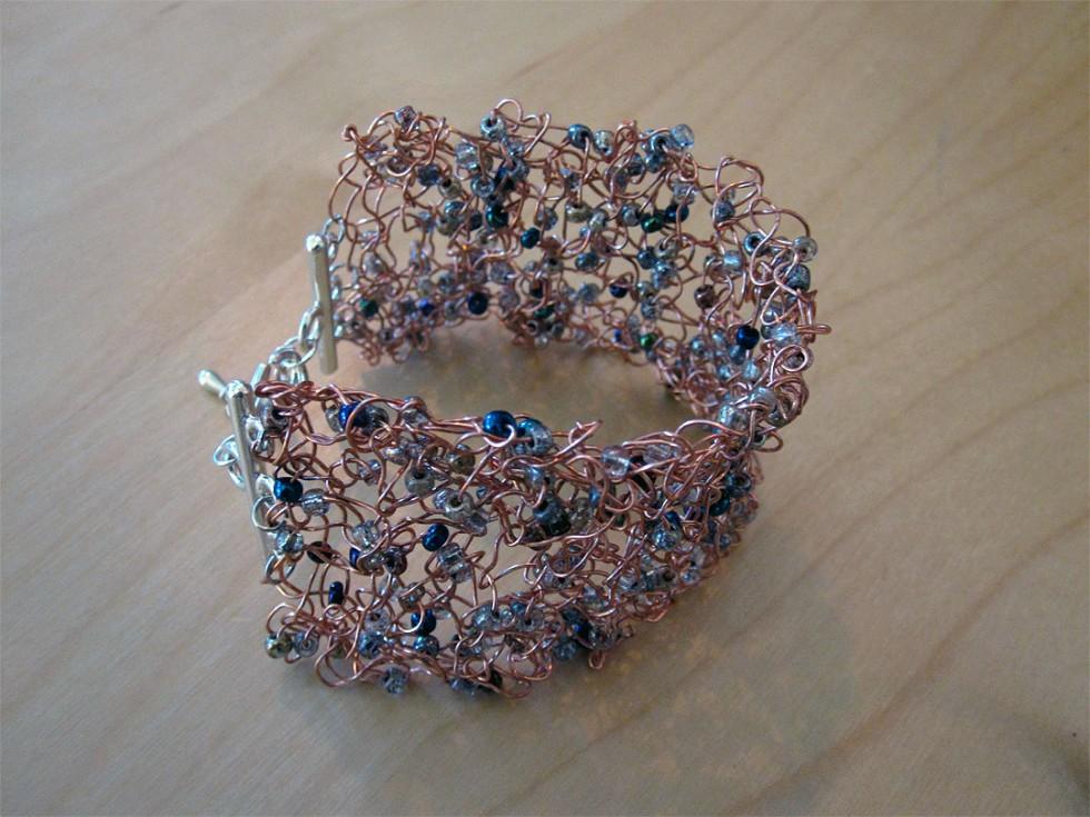 Knitting Bracelets