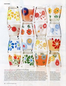 Martha Stewart's Sour Cream Glasses