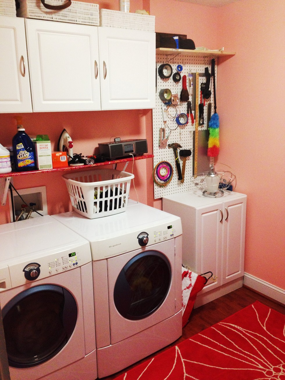 Laundry Room Renovation: Almost There!