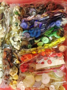 Rainbow Button Drawer