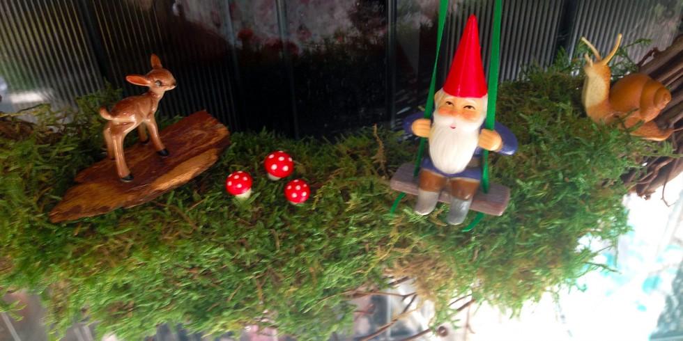 Woodland Creatures Wreath (+Gnomes!)